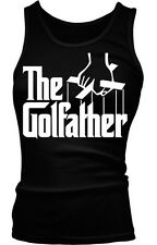 The Golfather Golfing Parody Funny Humor Classic Present Boy Beater Tank Top