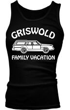 Griswold Family Vacation Parody Funny Family Truckster Humor Boy Beater Tank Top