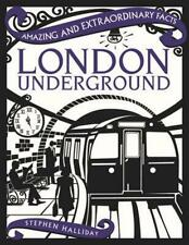 London Underground by Stephen Halliday Hardcover Book Free Shipping!