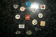 NFL NCAA Football Team Floating Charm for Glass Memory Locket