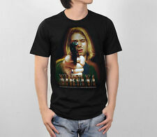 KURT COBAIN NIRVANA GUN GRAPHIC GRUNGE ROCK MUSIC BAND VTG RETRO MEN TEE T-SHIRT