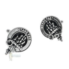 CLAN CREST CUFFLINKS - CHOICE 100+ SCOTTISH CLANS - NAMES MacL TO O