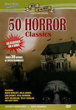 50 Horror Classics (DVD, 2010, 4-Disc Set)
