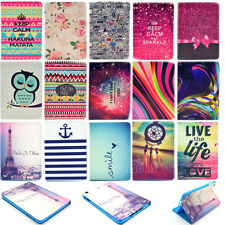 PU Leather Slim Flip Folding  Stand Hard Case Cover for Apple iPad Mini 1 2 3