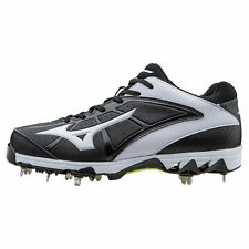 Mizuno Women's 9-Spike Swift 4 Metal Fastpitch Softball Cleats - 320510 - Black