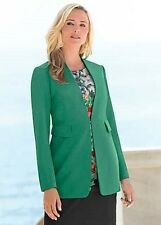KALEIDOSCOPE GREEN LONGLINE TAILORED JACKET SIZE 10 & 12 BNWT RRP £75.00