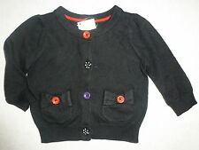 Gymboree WINTER PENGUIN Black Dot Button Bow Pocket Cardigan Sweater NWT Fall