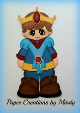 Craftecafe Mindy Disney Prince  boy premade paper piecing for scrapbook page