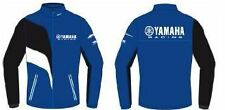 Yamaha Paddock Fleece. Blue with Logo's. 'Various Sizes' Brand New