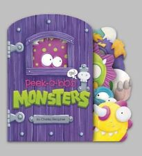 NEW Peek-a-boo Monsters by Charles Reasoner Board Books Book (English) Free Ship
