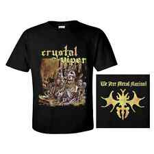 CRYSTAL VIPER T-Shirt 'We Are Metal Nation' ♫ Heavy metal ♪ Power metal ♫