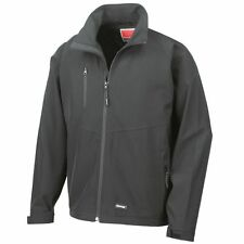Result Mens 2 Layer Base Softshell Jacket Lightweight Waterproof Coat XS-3XL UK