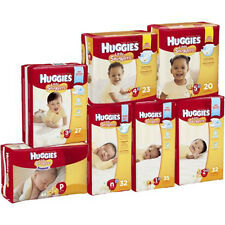 Huggies Little Snugglers Baby Diapers. Size 1/2/3/4/5/Newborn/Preemies