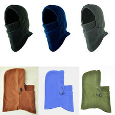 1Pcs New Winter Warmer Men Snood Fleece Scarf Hood Balaclava Neck Face Mask