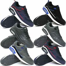NEW MENS RUNNING AIR TRAINERS FASHION CASUAL LACE GYM WALKING SPORTS SHOES SIZES
