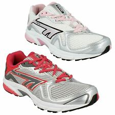 LADIES WOMENS HI-TEC R157 TEXTILE LACE UP RUNNING WALKING SPORTS TRAINERS SHOES