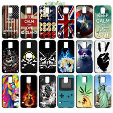 CUSTODIA COVER IN TPU MORBIDA PER SAMSUNG GALAXY S5 i9600 G900 FANTASIA D