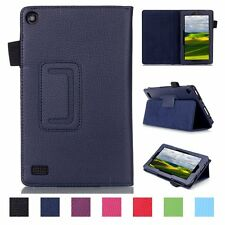 "Smart Magnetic PU Leather Case Cover Protector For Amazon Kindle Fire 7"" inch"