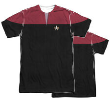 "Star Trek Voyager ""Voyager Command Uniform"" Dye Sublimation Tee - Adult, Child"