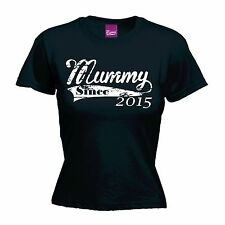 Mummy Since T-SHIRT Personalised Mum Born Baby Mothers Day birthday fashion gift