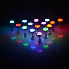 1Pair Dance Cosplay Party Wear LED Light Up Ear Studs Earrings Bling Earring U61