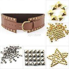 Pyramid Leathercraft DIY Pyramid Studs Spots Spikes Metal Rivets Punk 6-12mm U91