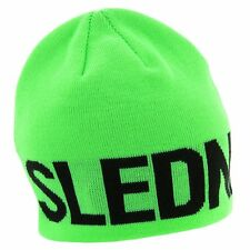 New with Tags! Slednecks Biggie Smalls 100% Polyester Fleece Lined Beanie