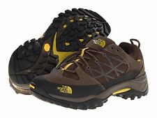The North Face Mens Storm WP Coffee / Brown Low Hiking Waterproof Shoes Boots