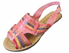 Women's Huarache Sandals - ROSITA - Mexican Sandals -  Leather BUCKLE CUSHIONED
