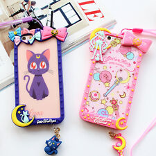 Cartoon Cute Bow Frame Sailor Moon Silicone Soft Case Cover for iphone6 6S Plus