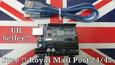 Arduino UNO Rev3 R3 328 ATMEGA328P board with USB cable Available UK Seller