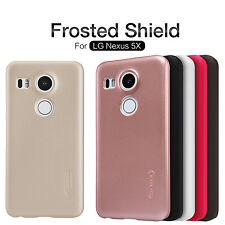 NILLKIN Super Frosted Matte Hard Plastic Phone Back Cases Covers For LG Nexus 5X