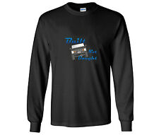 "Early Ford Bronco ""Built Not Bought"" Design Long Sleeve Black T Shirt"