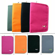 Travel Passport Credit Card Document Holder Case Bag Organizer Wallet Purse Gift