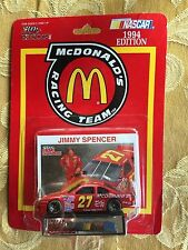 Racing Champions McDonalds Racing Team 1:64 Die Cast: Hut Stricklin #27 1994 ed