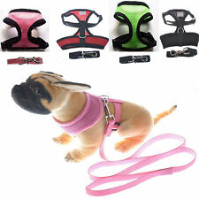 Pet Control Harness for Dog Cat Soft Mesh Walk Collar Safety Strap Vest