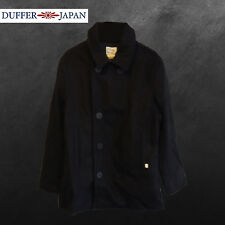 DUFFER JAPAN DARK NAVY CAPTAIN JACKET - BRAND NEW/TAGS RRP £130 - SAVE 76% OFF