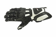 Motorcycle Gloves Summer motorcycle gloves Size M new black/white