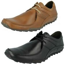 Mens Base London Waxy Tan Leather Casual Everyday Lace Up Shoes Spring Excel