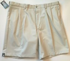 Roundtree & Yorke Travel Smart Classic Fit Pleated Big & Tall Men Shorts  NWT