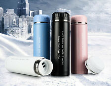 500ML Stainless Steel Travel Mug Office Tea Coffee Water Cup Bottle Thermos Cup