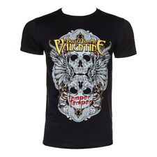 Official T Shirt BULLET FOR MY VALENTINE Black WINGED SKULL Band Tee All Sizes