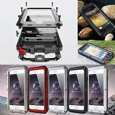 Waterproof Shockproof Aluminum Gorilla Metal Cover Case for iPhone  6 & 6 Plus