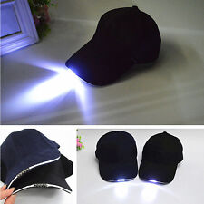 5 LED Light Baseball Cap ,  Strap Hat Fishing Camping Outdoor Hiking Hat
