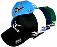 NEW MIZUNO GOLF 2016 TOUR ADJUSTABLE CAP HAT w/RUNBIRD TOUR LOGO (ASSORTED)