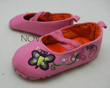 butterfly pink princess bow shoes toddler shoes baby girl shoes US size2,3,4