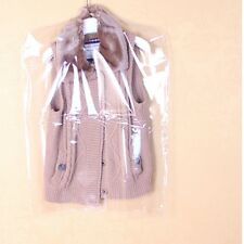 5 X Clear Clothes Dust Cover Shirt Coat Jacket Garment Bag Storage Protector New