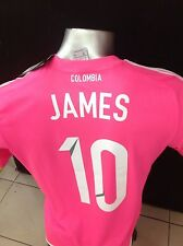 SELECCION COLOMBIA NATIONAL TEAM FCF MENS JAMES RODRIGUEZ JERSEY ADIDAS S16163