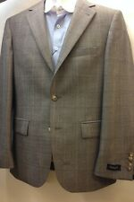 Mens Designer Tweed  Herringbone Vintage Coat Jacket Checked  Blazer 100% wool