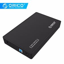 USB 3.0 to SATA 3.5 inch SSD HDD Hard Drive Enclosure External Case 8TB Max